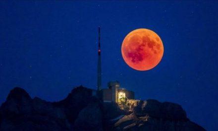 Luna en Sangre y Superluna de las Flores: Se viene el doble fenómeno