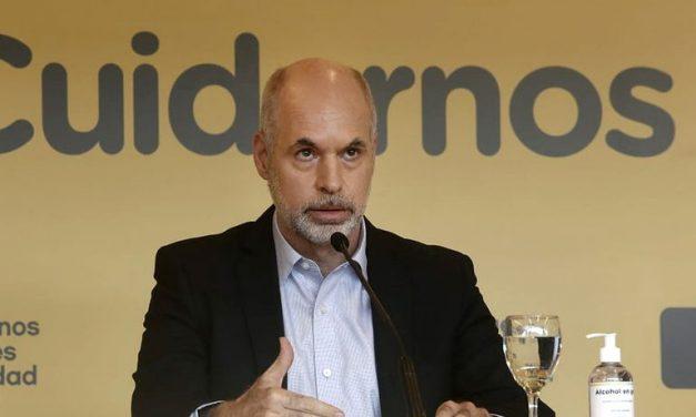 Horacio Rodríguez Larreta negocia con Estados Unidos la llegada de vacunas a la Ciudad de Buenos Aires