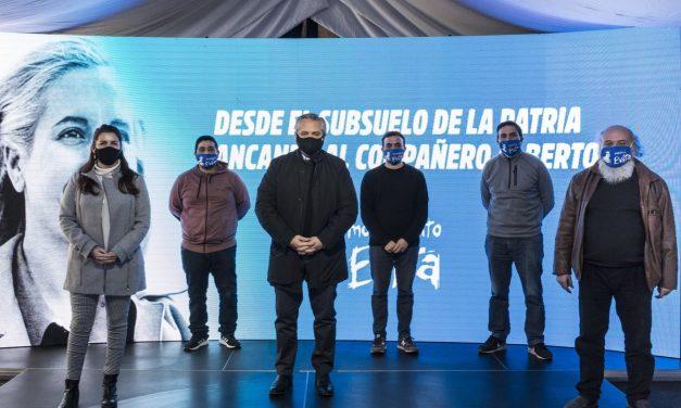 Alberto Fernández homenajeó a Evita: ¨Siempre recordamos que donde hay una necesidad, hay un derecho¨