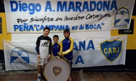 Tres campanenses fueron seleccionados por Boca