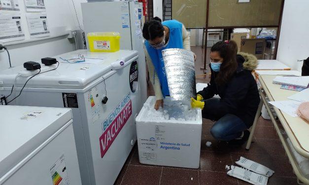 Vacunas Covid : 3000 vecinos de la ciudad completarán su vacunación  con la llegada de nuevas dosis