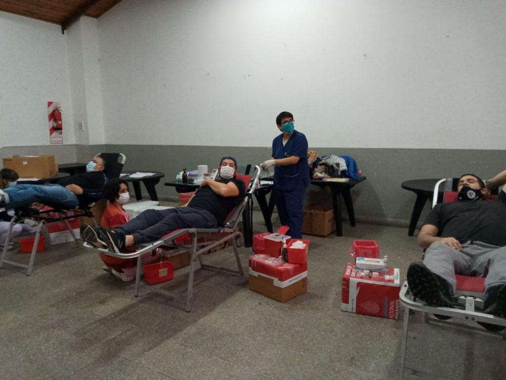 Importante jornada de donación de sangre  y plasma a través del movimiento obrero solidario