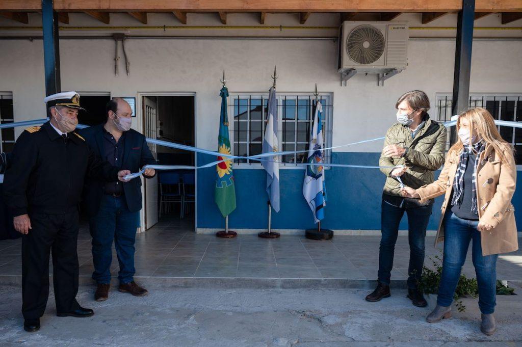 Tenaris inauguró dos nuevas aulas, un comedor y la preceptoría en la EST Nº4 de Zárate