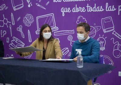 Jugadores de Villa Dálmine y Club Puerto Nuevo podrán terminar la secundaria