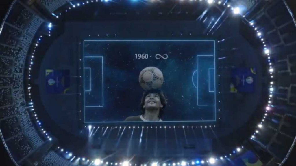 El emotivo homenaje de CONMEBOL a Diego Maradona en la previa de Argentina-Chile