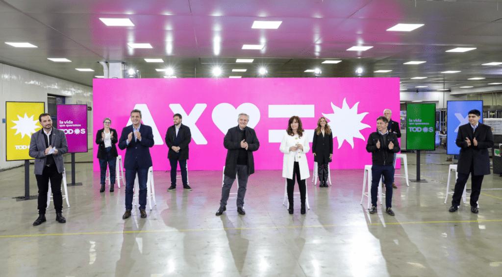 El Frente de Todos presento su lista de candidatos
