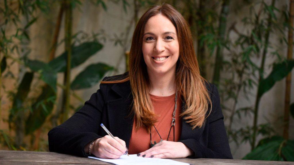 María Eugenia Vidal oficializó su lista con los candidatos de JxC que la acompañan