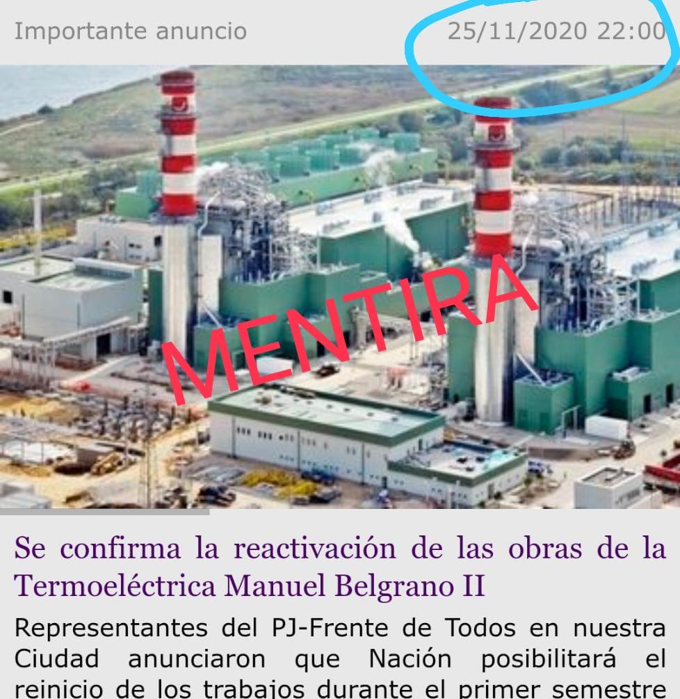 """Amaya: """"Romano y Calle le mintieron a los vecinos con la obra de la Termoeléctrica II"""""""
