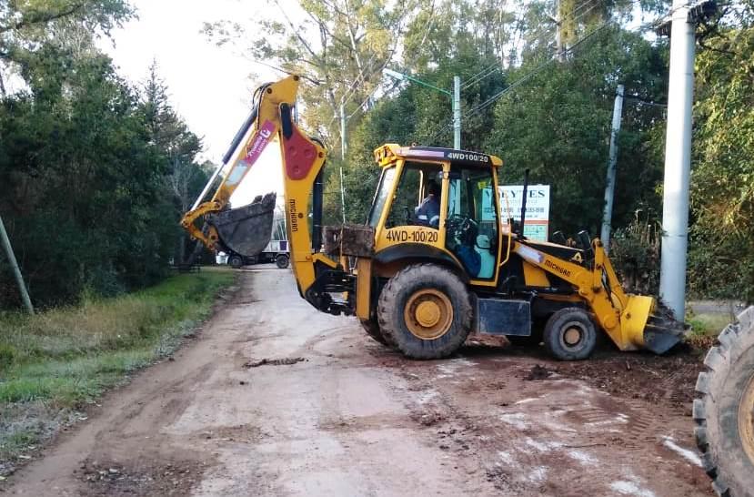 El Municipio realiza tareas de mantenimiento en el barrio Monteverde