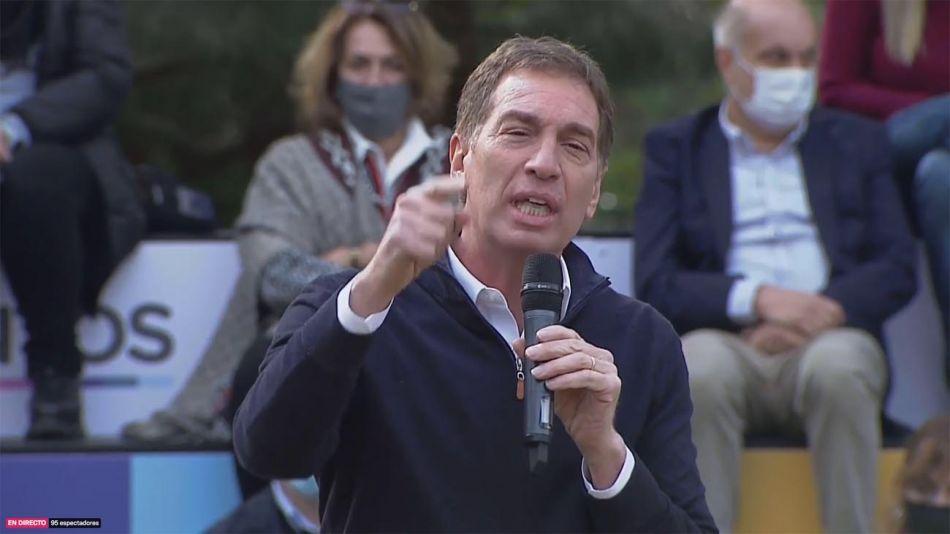 """Diego Santilli se lanzó como candidato bonaerense: """"Nos merecemos un país mejor y una Provincia mejor"""""""