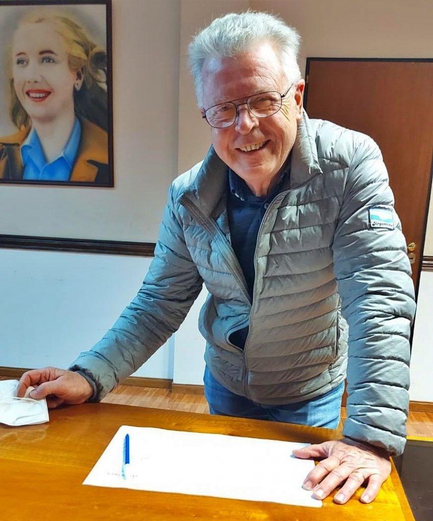 Rubén Romano es pre-candidato del Frente de Todos