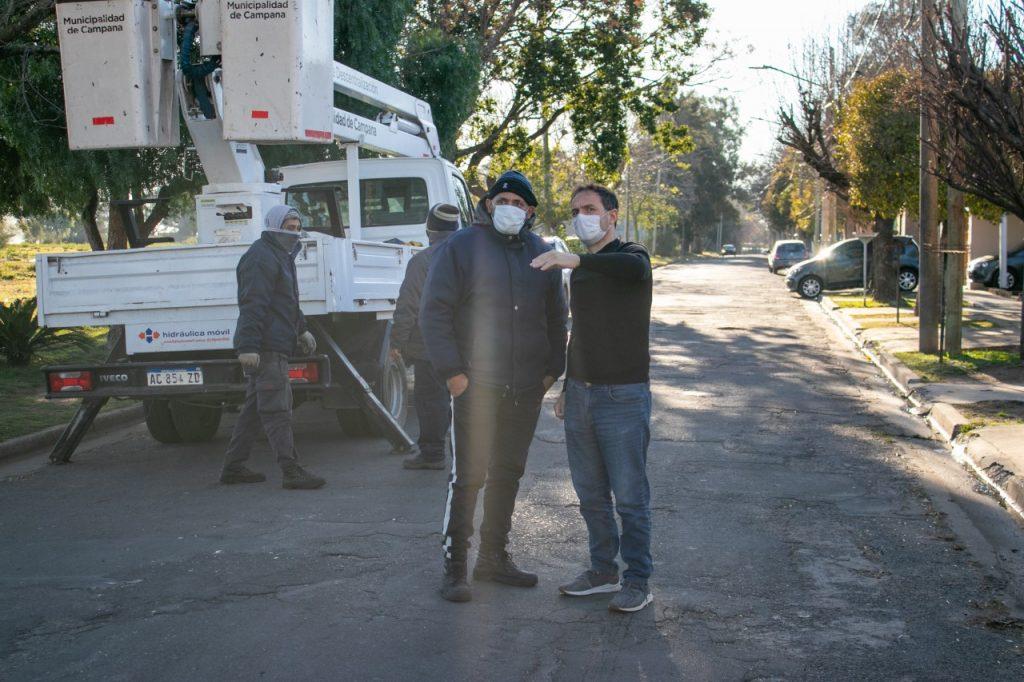 ESPACIO PÚBLICO: REALIZAN OPERATIVOS DE MANTENIMIENTO INTEGRAL EN TODA LA CIUDAD