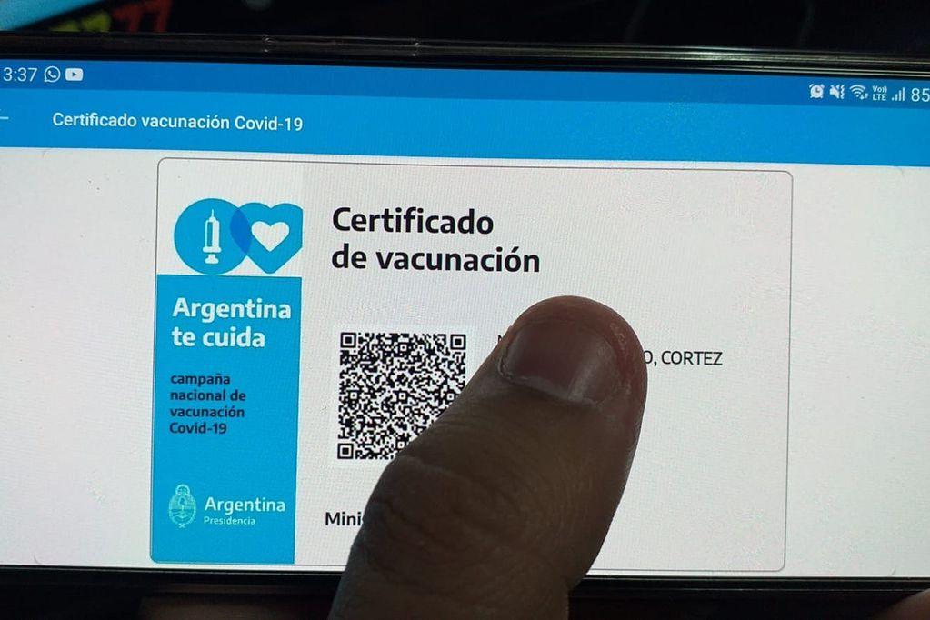 La credencial Mi Argentina será el documento internacional de vacunación contra el coronavirus