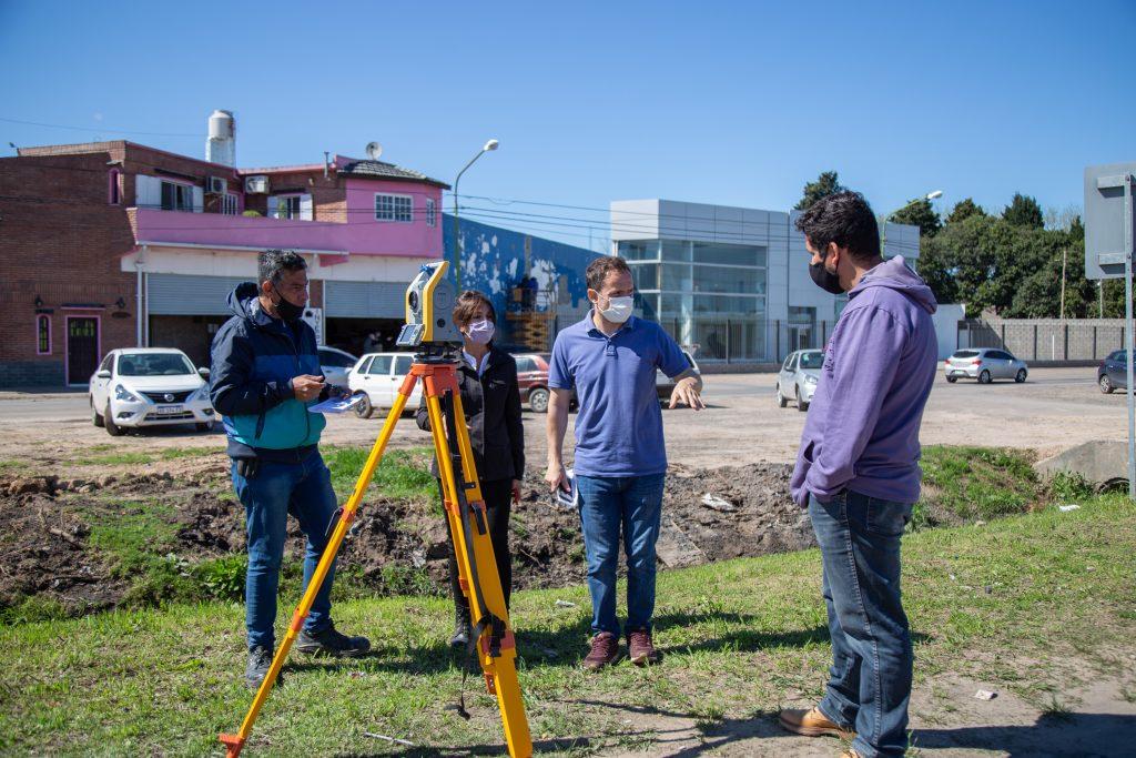 Ya comenzaron los trabajos preliminares para la construcción de la nueva rotonda