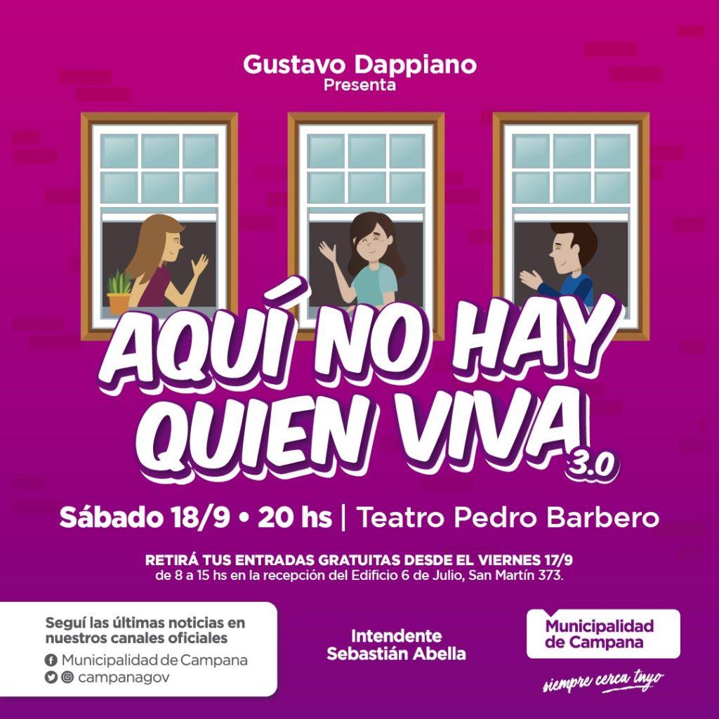 """""""Aquí no hay quien viva"""" regresa al teatro Pedro Barbero"""