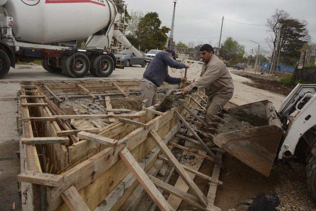 Continúan las obras en la nueva Costanera