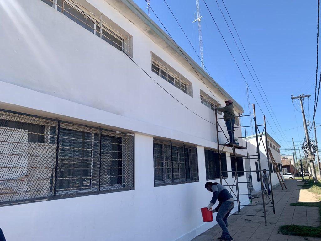 Comenzó la puesta en valor en el CIC de barrio Lubo