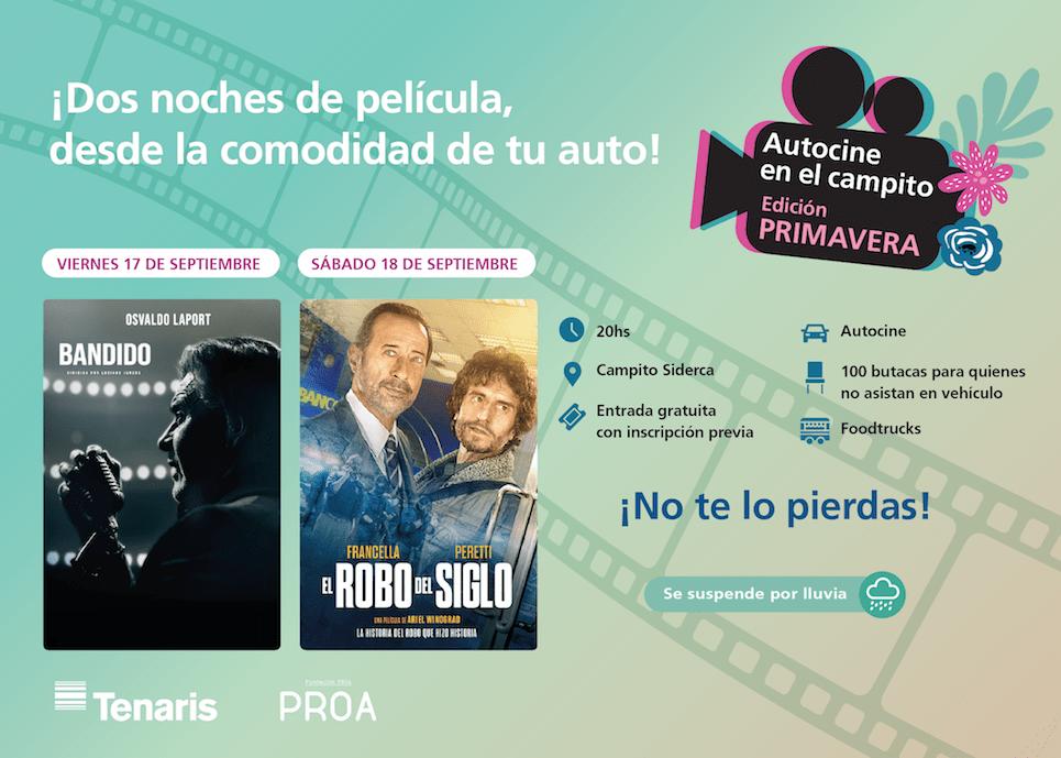 Llega este viernes la primera función del Ciclo de Cine Latinoamericano de Tenaris y Fundación PROA