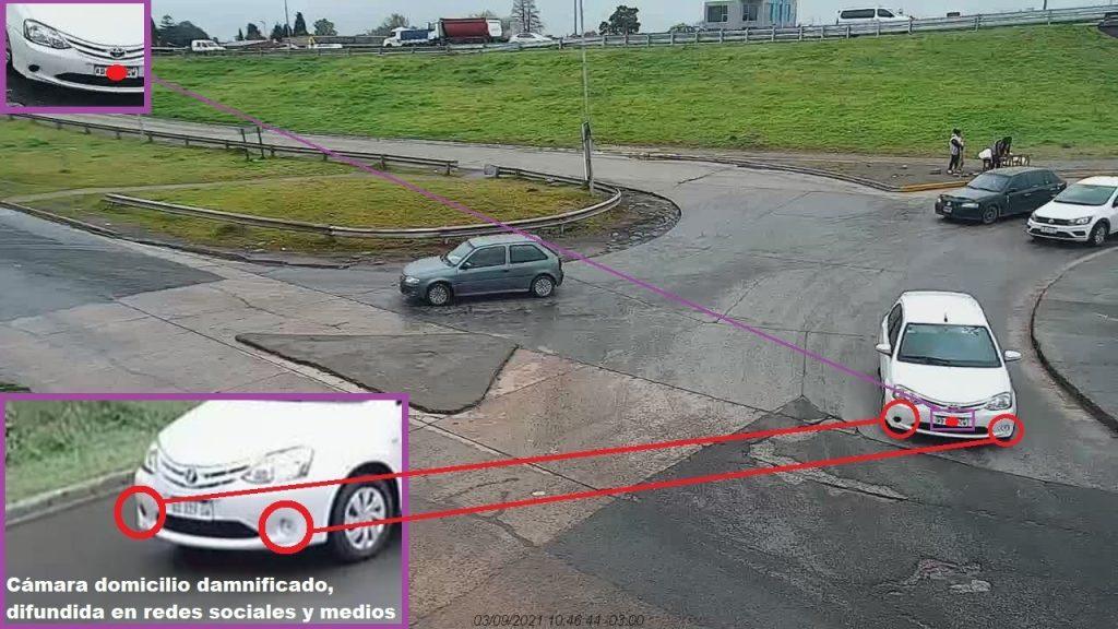 """El CIMOPU logró identificar el dominio del auto utilizado para realizar un """"cuento del tío"""""""