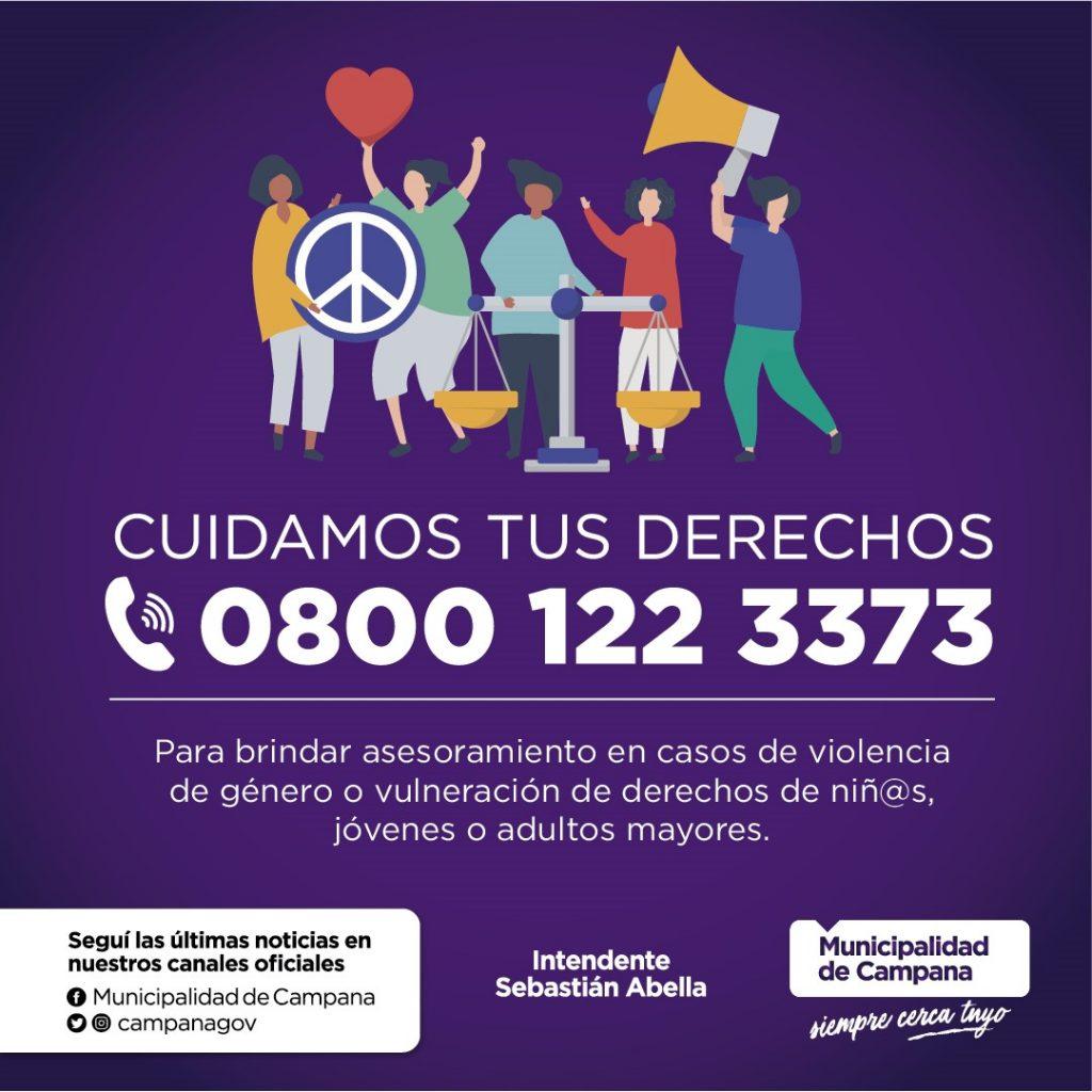Ya funciona la línea de escucha y contención ante casos de vulnerabilidad de derechos y violencias de género
