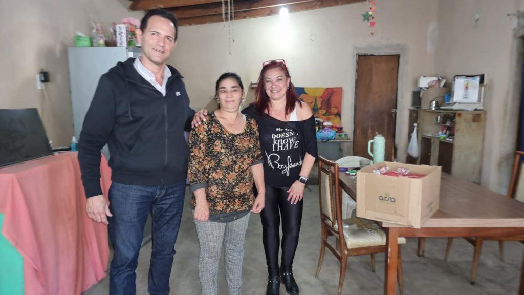 Capacitación para las emprendedoras del barrio El Destino, de la mano de Vamos con Vos