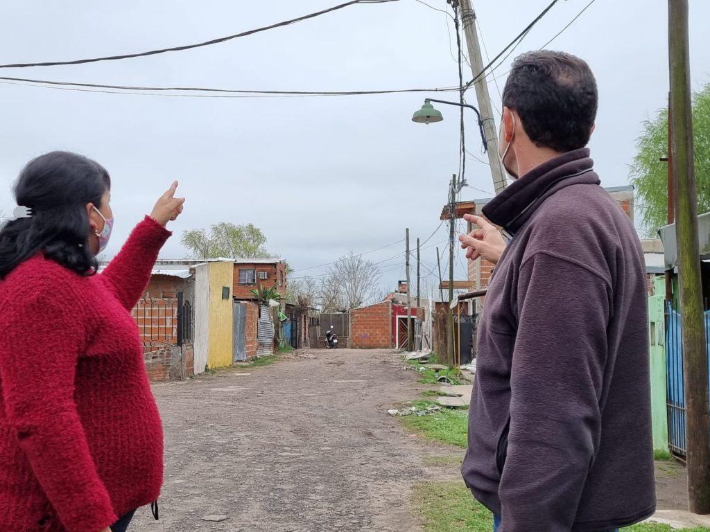 Queremos igualdad de trato, dijeron los vecinos del Barrio Las Tablitas a los referentes del Espacio Vamos con Vos
