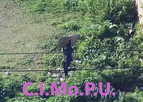 Las cámaras del CIMoPU detectaron a un sujeto robando en una vivienda de barrio Lubo
